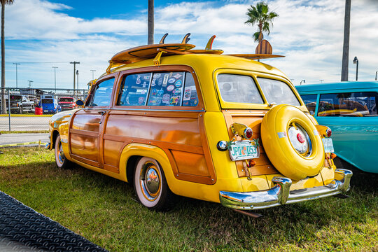 1950 Ford Woody Country Squire Station Wagon