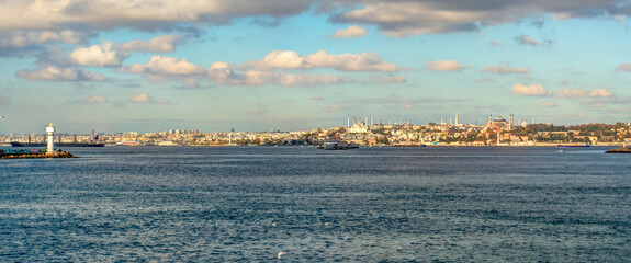 Wall Mural - Istanbul cityscape, HDR Image