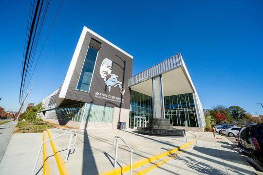 Martin Luther King JR Recreation and Aquatic Center Atlanta GA USA