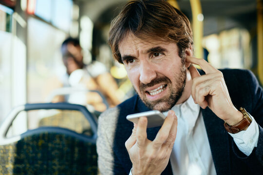 I can't hear you well because I'm commuting by bus now!