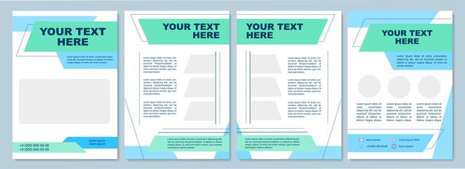 Fototapeta Multipurpose brochure template