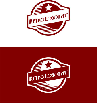 great logo in a retro style and excellent colors that were typical for the 30s-50s