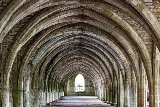 Fountains Abbey, October 2020