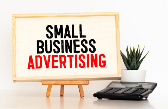 small business advertising text