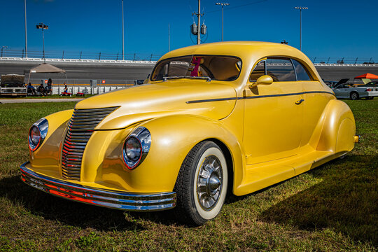 Customized 1940 Ford DeLuxe Coupe