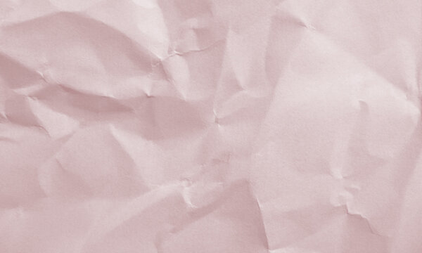 crimson colored crumpled paper texture background for design, decorative.