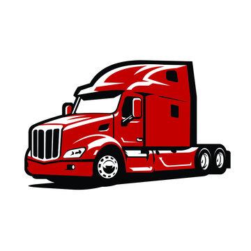 Semi truck - 18 wheeler truck