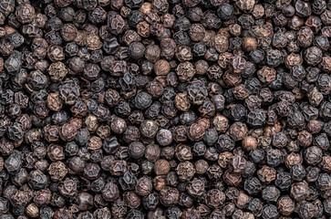 Fototapeta Seamless endless pattern of black pepper corn obraz