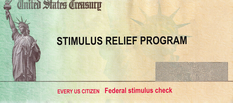 U.S. Federal stimulus package Coronavirus COVID-19 on global pandemic lockdown financial relief package government