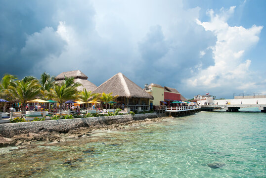 Cozumel Island Tourist Shopping Village