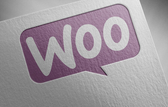 woocommerce on paper texture