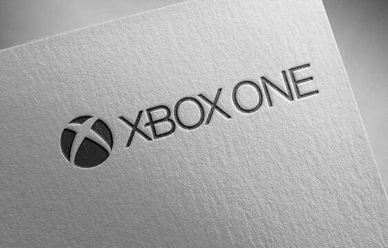 xbox-one-3 on paper texture