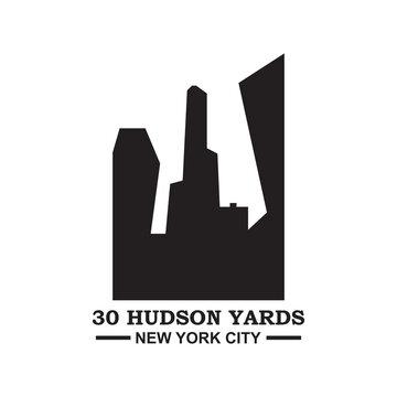 30 Hudson Yards Vector , New York Logo