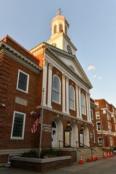 City Hall building in Lebanon, New Hampshire City Hall, located on North Park Street in downtown Lebanon.