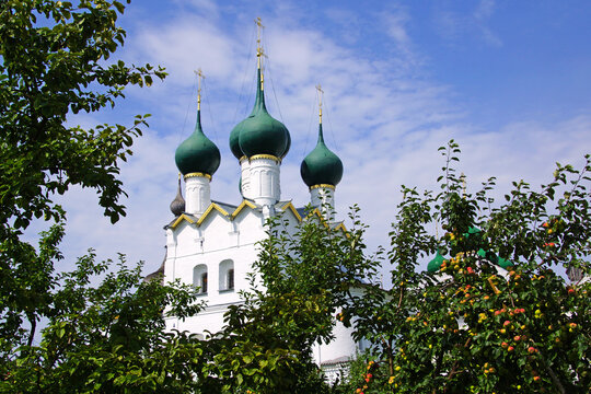 Church of St. Gregory the Theologian in Rostov Kremlin, Russia