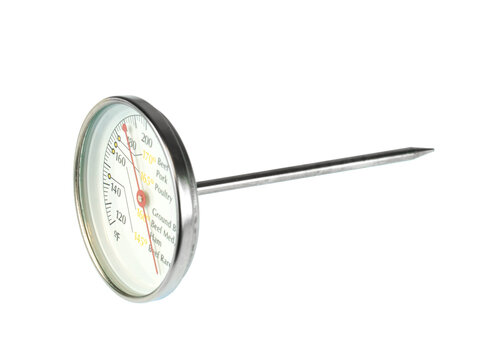 thermometer for meat temperature detection in kitchen