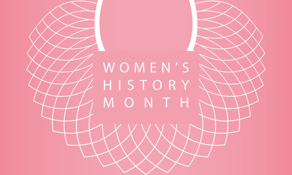 Women's History Month - card, poster, template, background