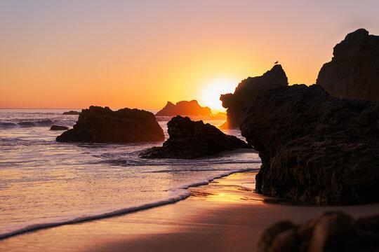 A day at El Matador Beach in Malibu CA, Sunset chasing.