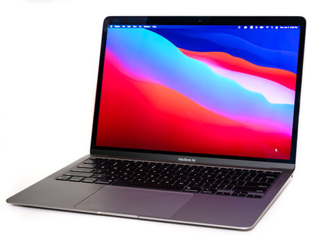 13-inch Macbook Air with Apple Silicon M1 chip in Ottawa, Canada on January 3, 2021