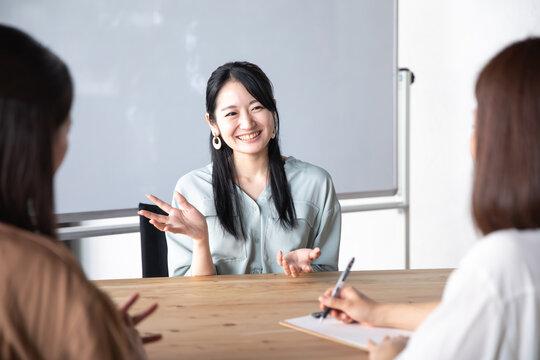 会議・インタビュー・対談