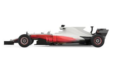 Race Car Isolated