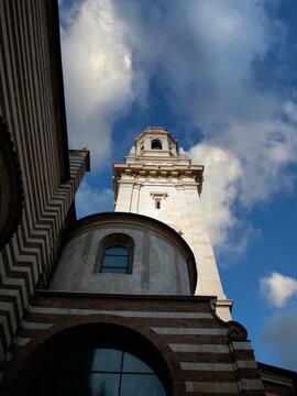 Verona - campanile del Duomo