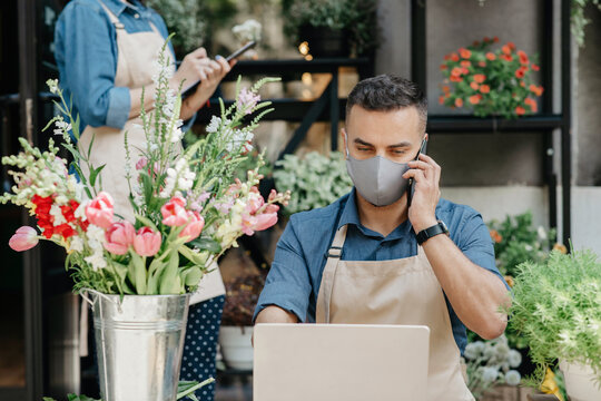 New normal, flower business and plant delivery