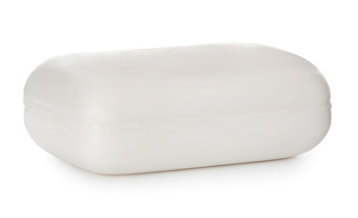 Wall Mural - Soap bar on white background. Personal hygiene