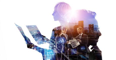 ビジネスネットワーク グローバルビジネス 経営戦略 - fototapety na wymiar