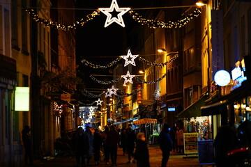 street photography Christmas antwerp Belgium