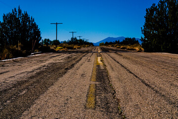 10/19/2020 Twin Arrows Trading Post, Historic Route 66 Agnell, AZ. with vintage Valentine Diner building.
