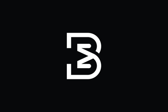 BE logo letter design on luxury background. EB logo monogram initials letter concept. BM icon logo design. MB elegant and Professional letter icon design on black background. BM MB BE EB