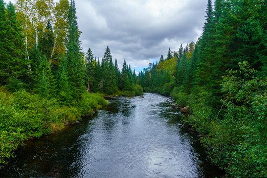 Diable (Devil) River, in Mont Tremblant National Park