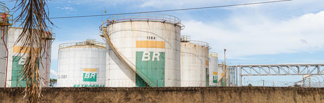 Centro de Distribuição da Petrobrás localizado no SIA em Brasília. Brasília, Distrito Federal - Brasil.