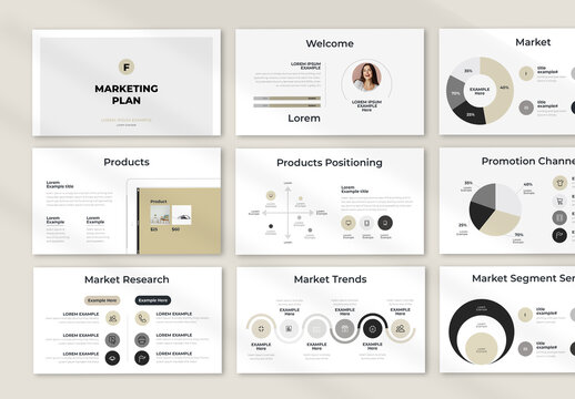 Marketing Plan Presentation Layout