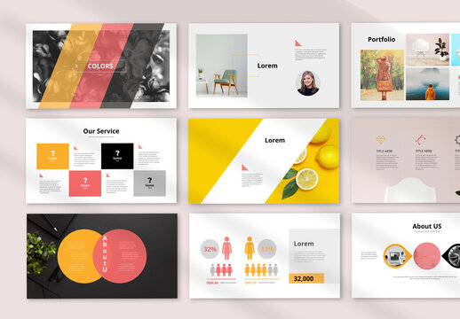 Colorful Presentation Layout