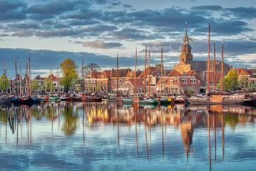 The small Dutch town of Blokzijl