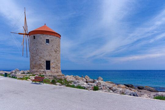 Moulin a vent grec - Rhodes