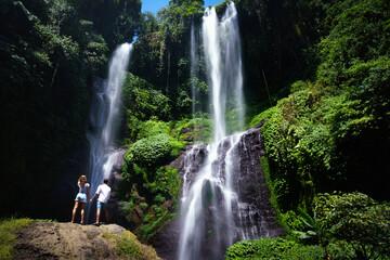 Grombong waterfall