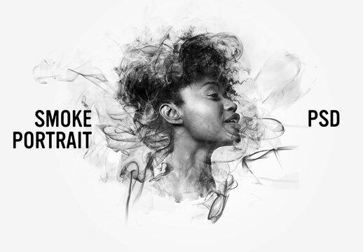 Smoke Portrait Effects