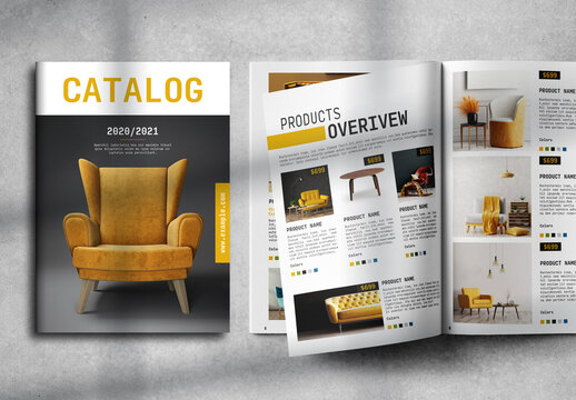 Product Catalog Layout