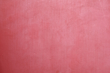 Red color paint concrete wall for texture design