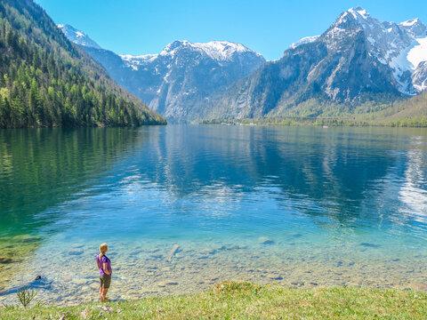 Wandern zum Königssee - Berchtesgaden