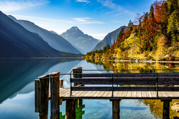 famous Plansee in Austria