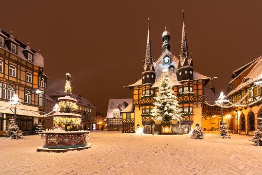 Winter Weihnachtsmarkt Wernigerode