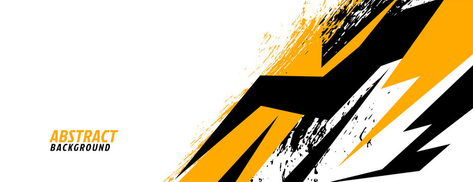 sorts racing background in geometric style design