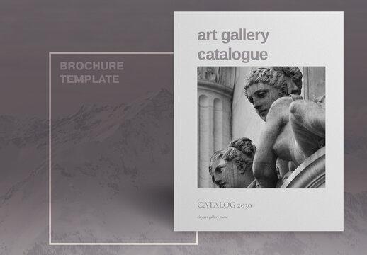 Art Gallery Catalogue Layout