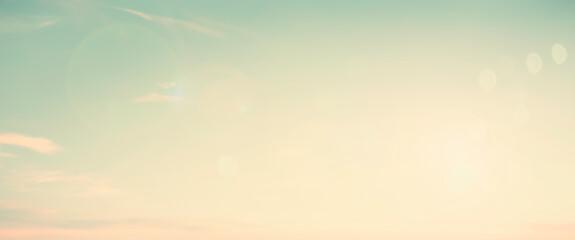 Abstract blur morning nature sky bokeh texture background concept for calm faith horizon landscape,...