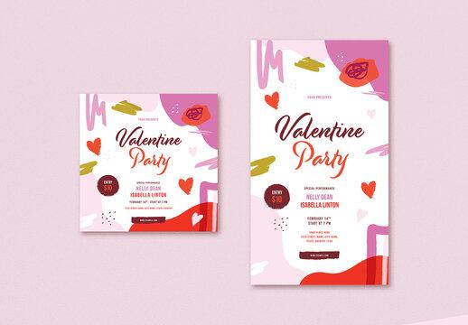 Valentine's Day Social Media Post