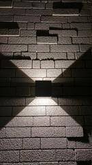 Shadow Of Brick Wall
